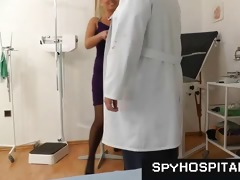 spruce cutie at gyno doctor caught on hidden cam