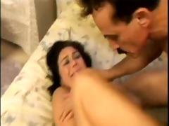 dad pumping daughters arse