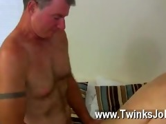 hawt gay sex daddy brett obliges of course, after