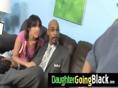 watch how my daughter is screwed by a black dude