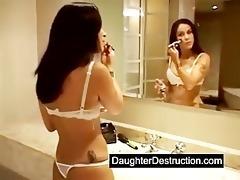 extraordinary teen double anal destruction