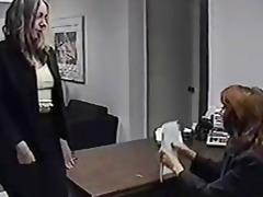 secretary worships older feet