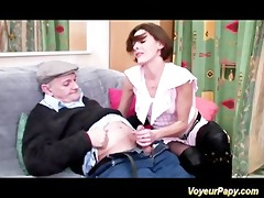 papy and a nice friend fucking hard this excited