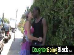 see how my daughter is drilled by a dark dude 10