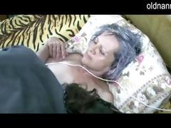 old granny get fur pie licked by juvenile lad