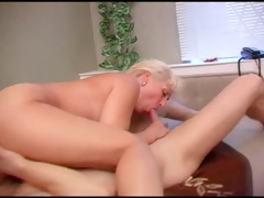 great looking blonde milf and juvenile guy