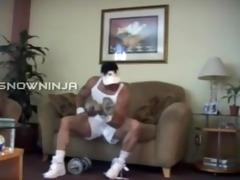 verbal italian bodybuilder workout & cum