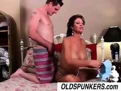very hot milf vanessa videl copulates a